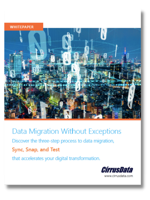 Cirrus Data: Data Migration Without Exceptions