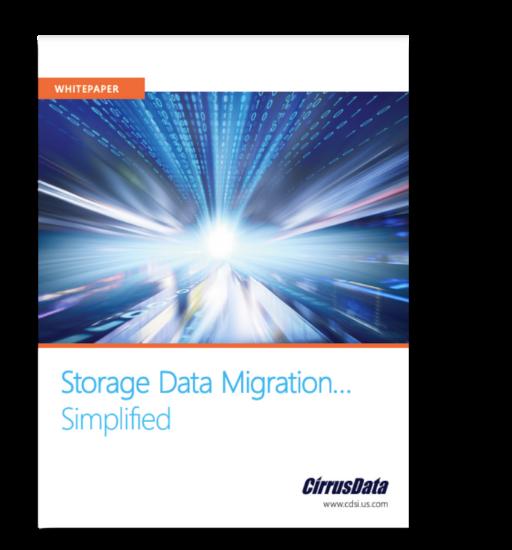 Cirrus Data: Storage Data Migration Simplified