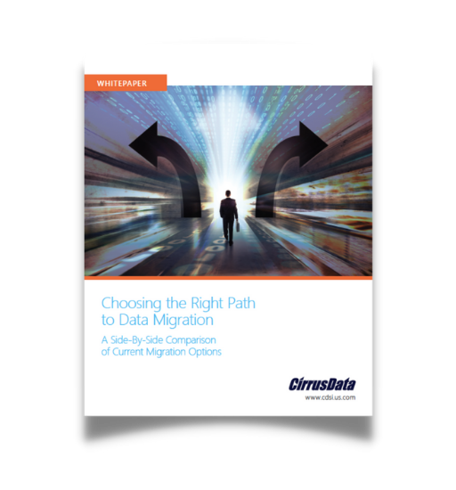 Choosing the Right Path to Data Migration