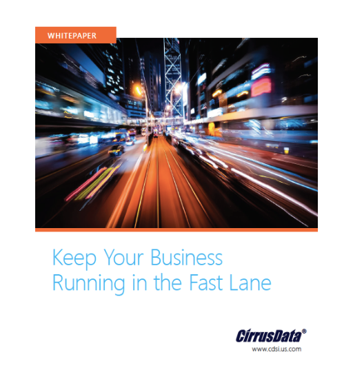 Keep Your Business Running in the Fast Lane